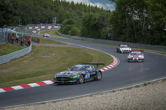 Strong performance Yelmer in 24h Nurburgring